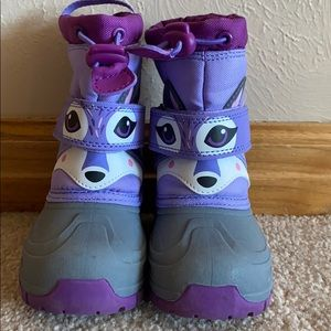 Cat and Jack Thermolite Toddler Snow boots size 7
